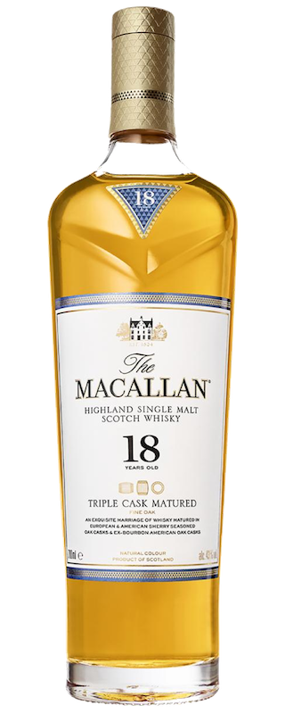The Macallan 18 Years Old Triple Cask - Macallan Whisky