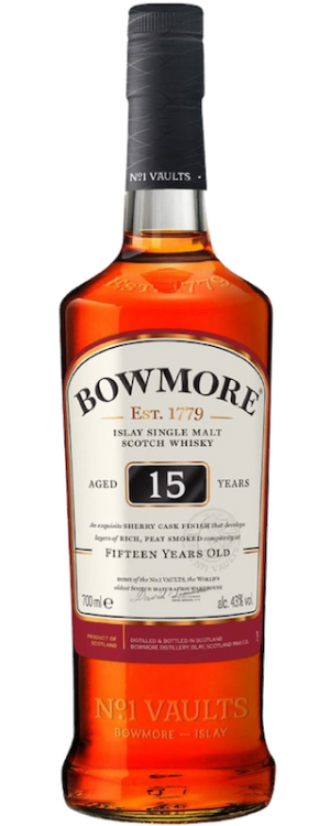 Single Malt Darkest 15 Years Old - Bowmore